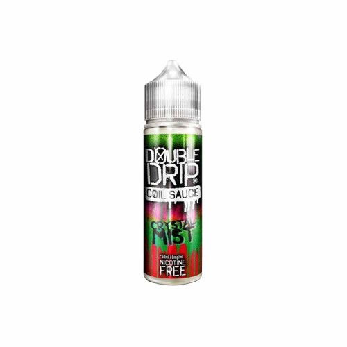 double drip short fill e liquid crystal mist