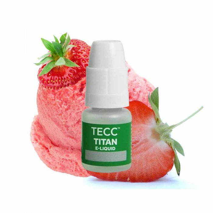 tecc titan e liquid strawberrymilk ice