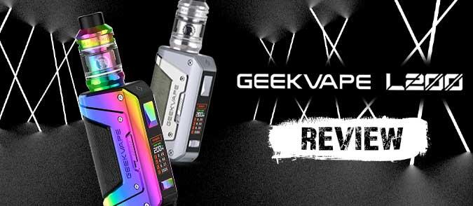 GEEKVAPE L200 review