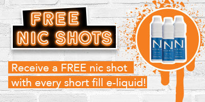 free nic shots with shortfill liquid