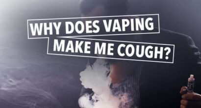 why does vaping make me cough