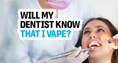 will my dentist know that i vape
