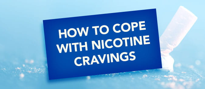 how to cope with nicotine cravings