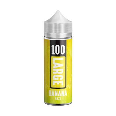 100 Large Short Fill E-juice - Banana Haze