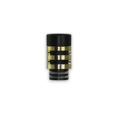 Black and Gold Plastic Mouthpiece