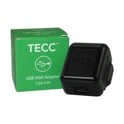 TECC 1.0A USB Wall Adaptor