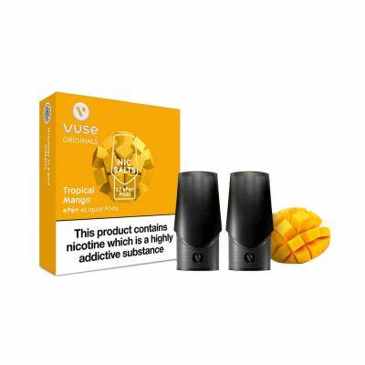 Vuse Originals ePen Nic Salt Pods x 2 - Tropical Mango