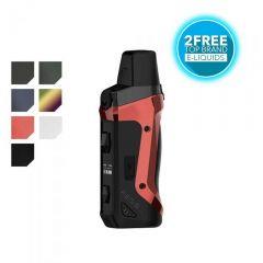 GeekVape Aegis Boost Vape Pod Kit with 2 Free Liquids