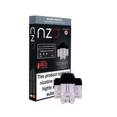 nzo Pods x 3 - Red Liquids Silver Tobacco