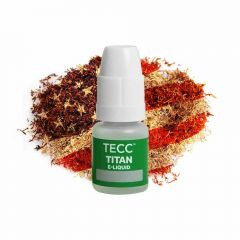 TECC Titan E-liquid - American Red Tobacco