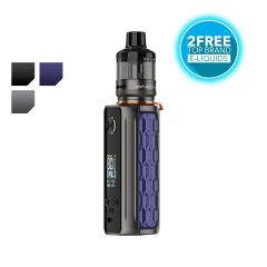 Vaporesso TARGET 80 Kit with 2 free liquids from tecc.co.uk