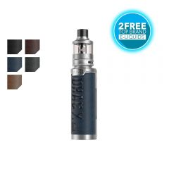 VOOPOO DRAG X Plus Pro kit with 2 free liquids from tecc.co.uk