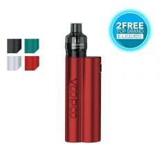 VOOPOO MUSKET Kit with 2 free liquids from tecc.co.uk