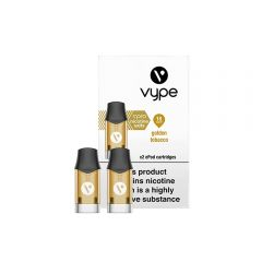 Vype ePod vPro Cartridges x 2 - Golden Tobacco