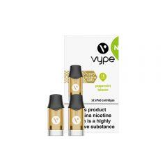 Vype ePod vPro Cartridges x 2 - Peppermint Tobacco