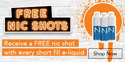 Receive a FREE nic shot with every short fill e-liquid