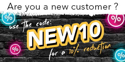 Save 10% with the code NEW10