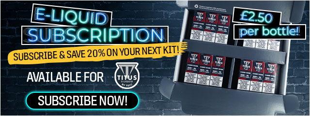 TECC Titus E-liquid Subscription
