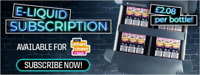 TECC Urban Chase E-liquid Subscription