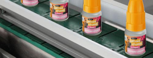 E-liquid being manufactured